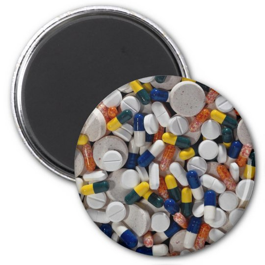 Colorful Pills Magnet