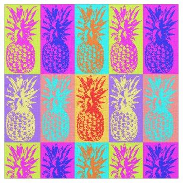 Boopoobeedoogift colorful Pinapples,summer Fabric