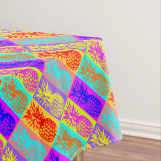 Colorful Pineapples, Summer Tablecloth