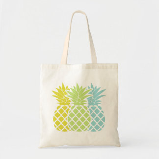 Colorful Pineapples Tote Bag