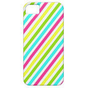 Colorful Pink Blue Green Yellow Neon Stripes iPhone 5 Covers