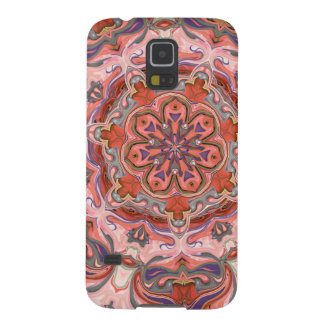 Colorful Pink Mandala Phone Cover Case For Galaxy S5