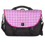 Colorful Pink Polka Dot Pattern Trendy Design Commuter Bag