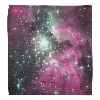 Colorful Pink & Purple Galaxy Trendy Nebula Bandana
