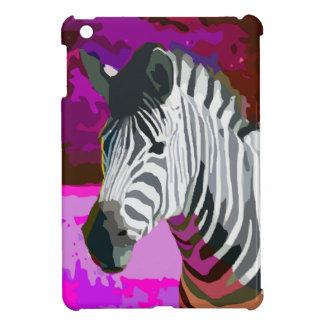 Colorful Pink Purple Neon Zebra Case For The iPad Mini