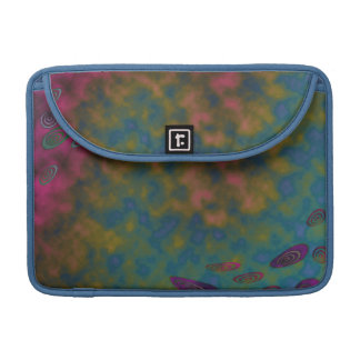 colorful pink yellow blue MacBook pro sleeve