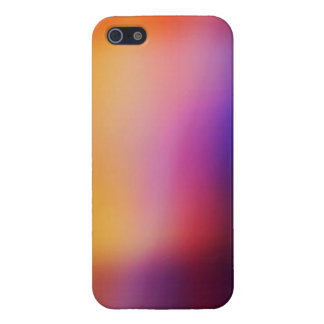 Colorful Pink Yellow Purple and Orange Abstract iPhone SE/5/5s Case