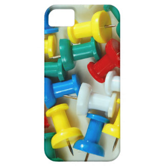 Colorful pins print iPhone SE/5/5s case