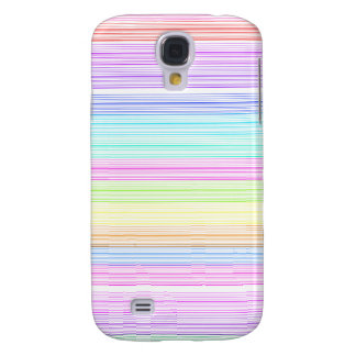 Colorful Pinstripes Galaxy S4 Case