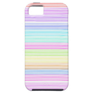 Colorful Pinstripes iPhone SE/5/5s Case
