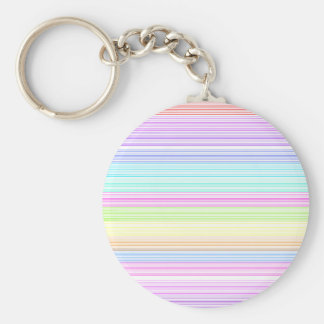 Colorful Pinstripes Key Chains