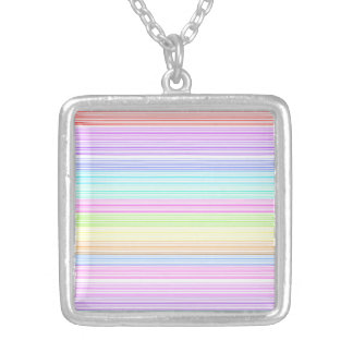 Colorful Pinstripes Pendant