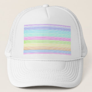 Colorful Pinstripes Trucker Hat
