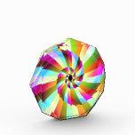 Colorful Pinwheel Abstract Design Award