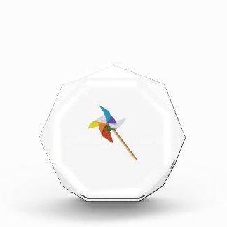 Colorful Pinwheel Award