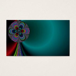 Colorful Pinwheel Business Card