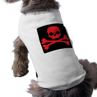 Colorful Pirate Flag Doggie Shirt
