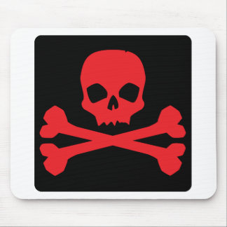 Colorful Pirate Flag Mouse Pad