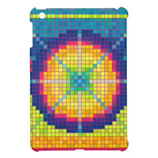 Colorful Pixel Art Abstract Pattern iPad Case