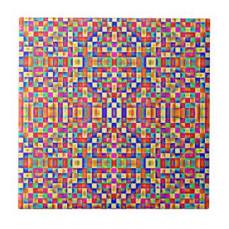 Colorful Pixels Tile