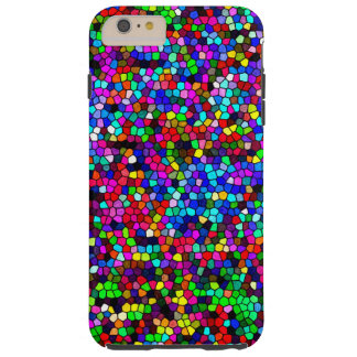 Colorful Pixels Tough iPhone 6 Plus Case