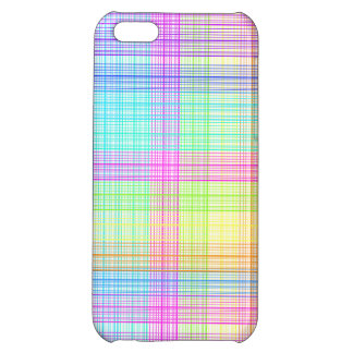Colorful Plaid Pattern iPhone 5C Cover