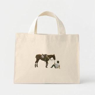 Colorful Plain Resting Horse Bag