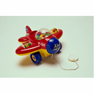 Colorful plane toy for kids photo cut out