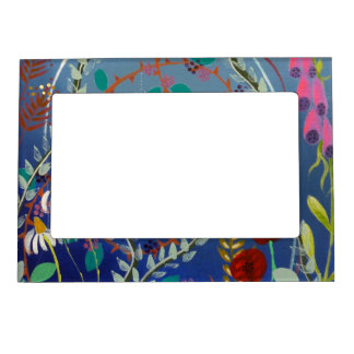 Colorful Plants. Magnetic Frame