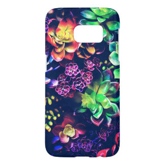 Colorful Plants Samsung Galaxy S7 Case
