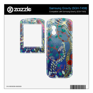Colorful Plants Samsung Gravity Skin