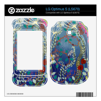 Colorful Plants. LG Optimus S Decals