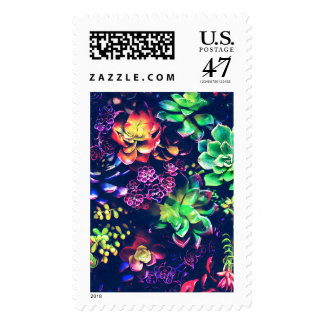Colorful Plants Stamp