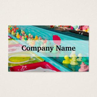 Colorful Plastic Fair Ducks Game Business Card