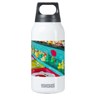 Colorful Plastic Fair Ducks Game Insulated Water Bottle