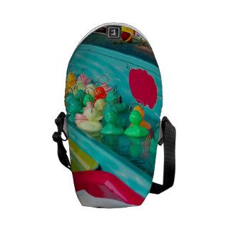 Colorful Plastic Fair Ducks Game Courier Bags
