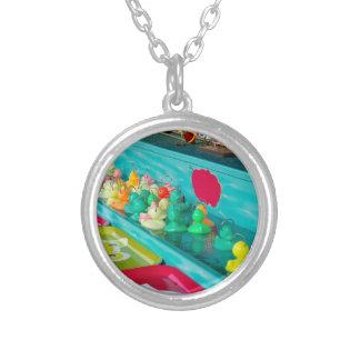 Colorful Plastic Fair Ducks Game Jewelry