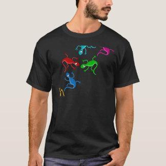 Colorful, playful lizards T-Shirt