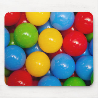 Colorful Playground Balls Mouse Pad