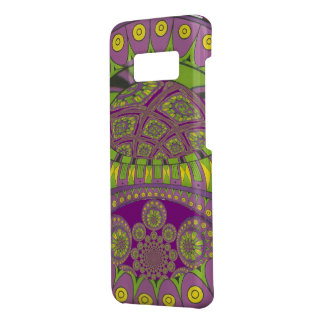 Colorful Plum Yellow lace decorative ethnic patter Case-Mate Samsung Galaxy S8 Case