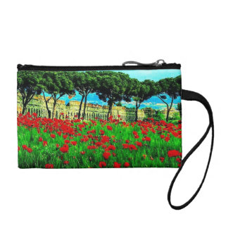 Colorful Pocketful of Poises Key Coin Clutch