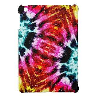 Colorful Poinsettia Abstract iPad Mini Covers