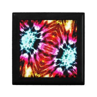 Colorful Poinsettia Abstract Keepsake Boxes