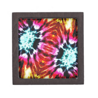 Colorful Poinsettia Abstract Premium Gift Boxes
