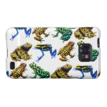 Colorful Poison Frogs Samsung Galaxy S  Case Samsung Galaxy Cases