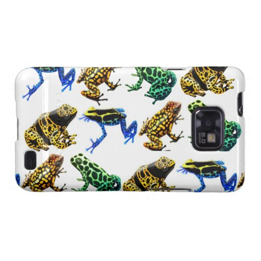 Colorful Poison Frogs Samsung Galaxy S  Case