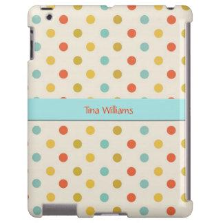 Colorful Polka Dot iPad Case
