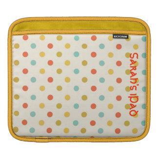 Colorful Polka Dot iPad Sleeve
