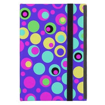 Colorful Polka Dot Party iPad Case