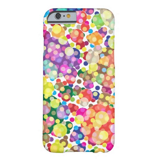 Colorful Polka Dot Pattern iPhone 6 Case